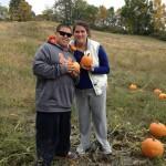 Pumpkins! Chris and Tinamarie Photo Cred: Cynthia