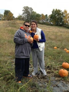 Pumpkins! Chris and Tinamarie Photo Cred: Cynthia