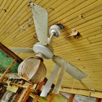 Ceiling fan- left from pre-Katrina