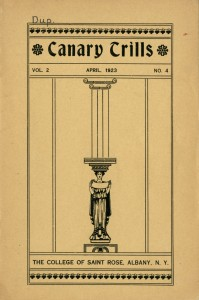Canary Trills - April 1923