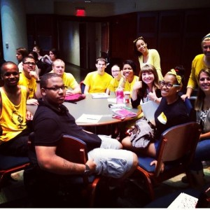 The coolest people on campus, Zone 1!! Photo Credit to Marinel Martinez (the best AC ever)