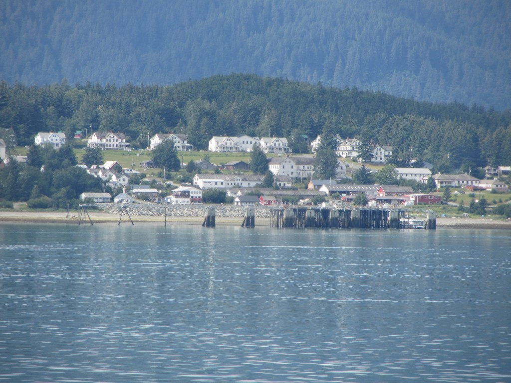 A view of Haines before arriving at the ferry terminal (credit: Priscilla Ly)