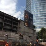 Torre Diana Construction Site (photo credit: Oren Rasowsky)
