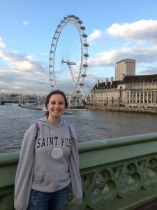 Aideen in London!