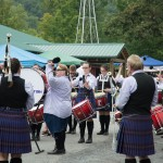 Thousands of Bagpipers and Drummers gather for the Capital District Scottish Games at the Altimont Fair Grounds.
