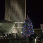 The Annual Holiday Tree adds a bit of holiday spirit to the Empire State Plaza.