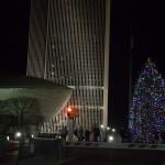 A staple of the Albany Holiday Season, the Empire Plaza Tree.