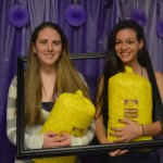 Colleges Against Cancer held their Relay For Life kickoff, featuring a purple carpet and paparazzi!