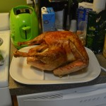 Having access to a full kitchen this year, I decided to take on the task of cooking for 12 at Freindsgiving.