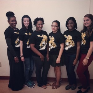 Knights of Service beautiful E-Board Members. Follow us @StroseKnightsofService