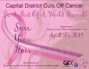 Capital District Cuts off Cancer. Photo Credit: CDCC Facebook Page