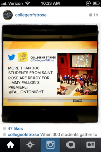 One of our tweets was featured on The Today show!