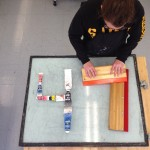 """""""Checking in from Picotte with 47 days left until graduation. Helping out is senior Jen McAlonie, dual major in Printmaking and Photography."""""""