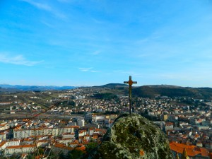A view of Le Puy from one of the highest points in the town!  Photo taken by Genevieve Diller