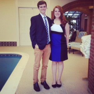 Eric and I before our Simsbury, CT event!