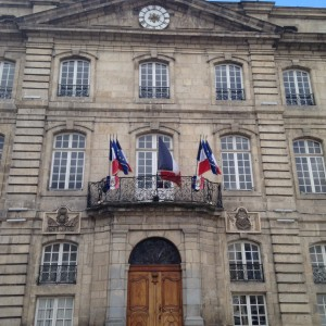 City Hall in Le Puy! Photo taken by Genevieve Diller.
