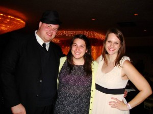 Kate at Semi Formal with friends Matt Vincent and Susan Walensky!