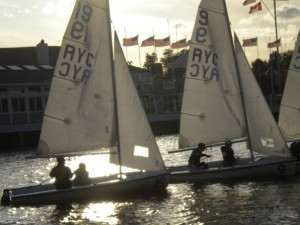 Don't knock it 'till you try it! So much fun! Check out the Sailing class here at Saint Rose for Gym credit!