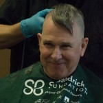 Father Chris, Dean of Spiritual Life, shaved his head during St. Baldrick's Day (And yes, he had a mohawk for a very short time.)