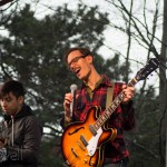 The band Hellogoodbye was the headliner for Rose Rock 2014.