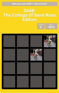 2048: The College of Saint Rose Edition