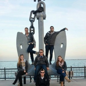 Our board at Navy Pier