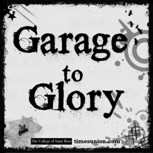 Official Saint Rose flyer for Garage to Glory