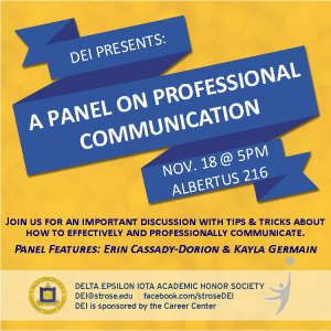Professional Communication Panel