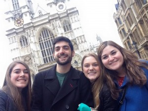 Golden Knights go abroad! Best friends reunite in London!