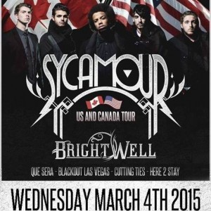 SycAmour and Brightwell Tour Poster