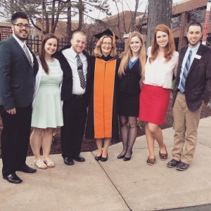 The SA Board with President Stefanco after she was inaugurated.