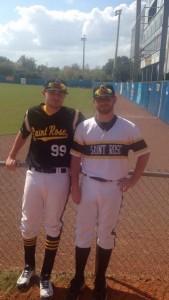 Zdanowski and teammate Alex Tomlinson