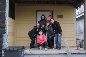 Some of the great people I spent a week with in New Orleans, LA repairing homes affected by Hurricane Katrina for an Alternative Spring Break trip!