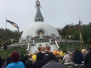 The beautiful Grafton Peace Pagoda Anniversary Service!