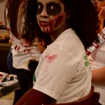 Zombies getting ready for Zombie Quarantine Haunted House(4)