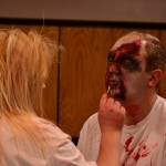 Zombies getting ready for Zombie Quarantine Haunted House(5)