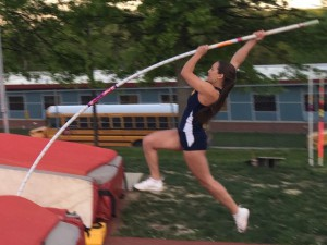 Kelly pole-vaulting