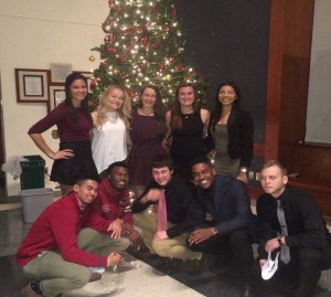 Back row (From left to right): Jazmin Velaquez, Dainara Veeder, Cara Kelly, Alicia Bousa, and Maybelline Amaya Front row: Will Springer, Omari Forbes, Donovan Smith, Michael Benson, and Dennis Turner