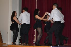 Sabor Latino dance team performing