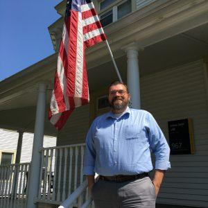 Nick Lanier, assistant director of veteran enrollment at Saint Rose