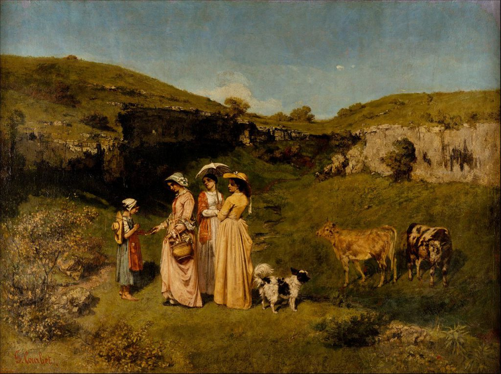 """Young Ladies of the Village"" (1851)"