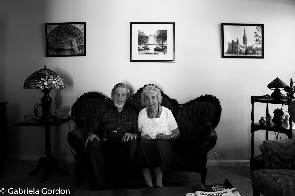 Photo residents in retirement community by Gabby Gordon