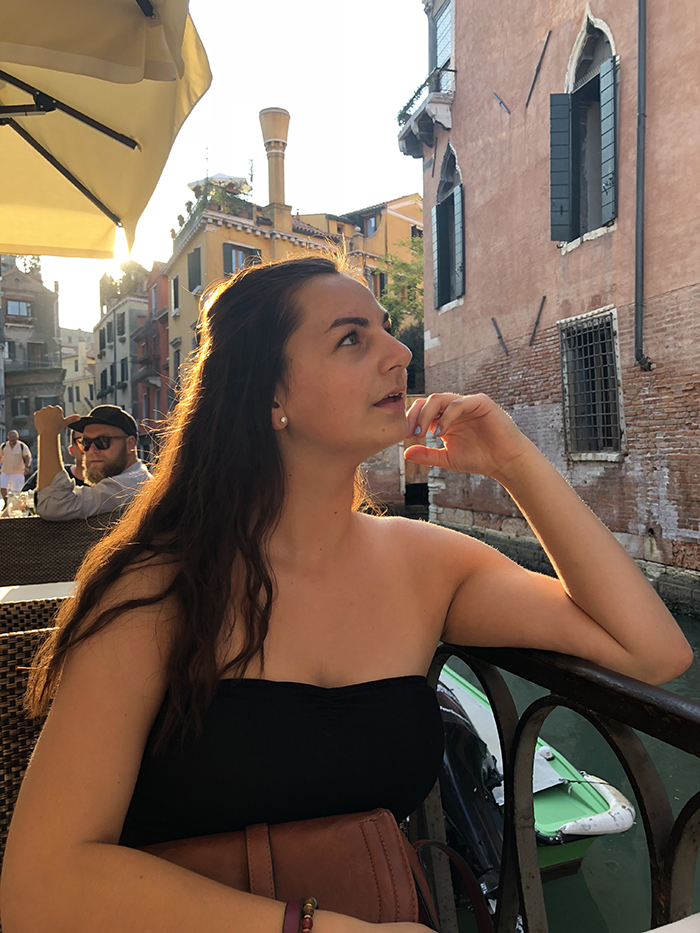 Saint Rose Student in Italy