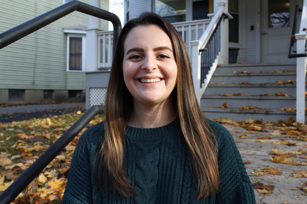 saint rose graduate student sarah uzzi