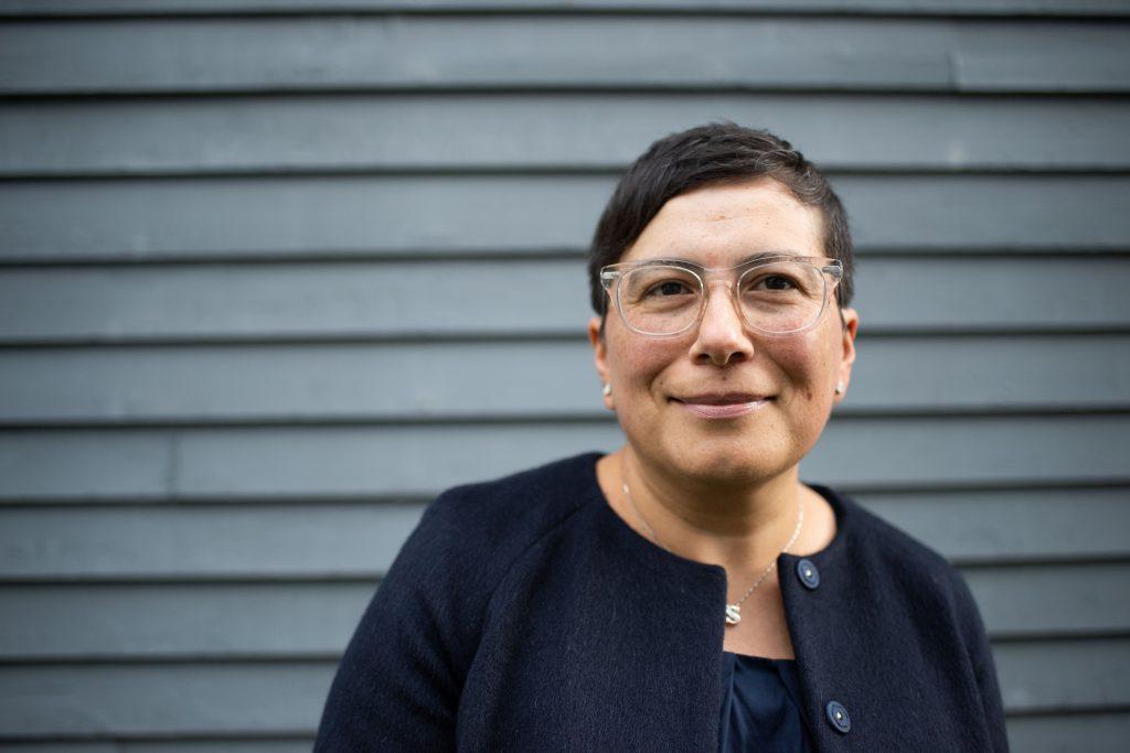 Saint Rose professor Silvia Meija