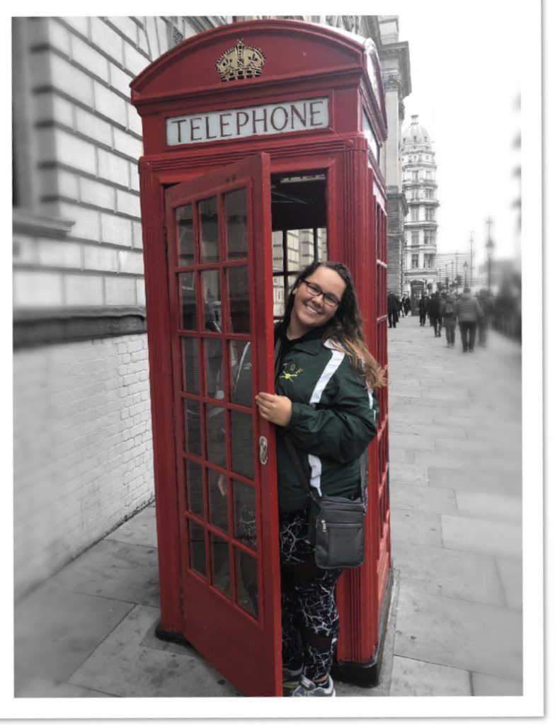 Kiara Alicea in London, England