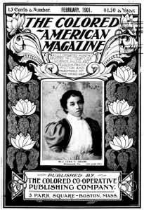 Cover of The Colored American Magazine with Lena V. Isham pictured on the front