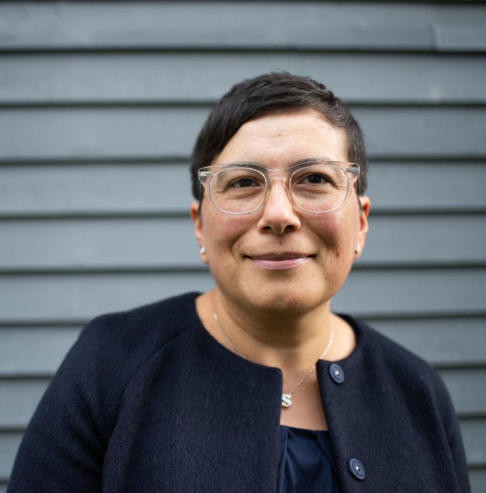 Saint Rose Professor Silvia Mejia