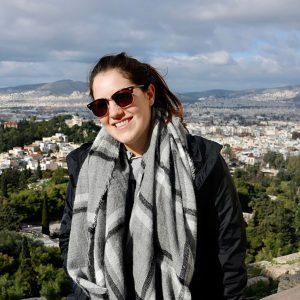 Caroline in Athens, Greece