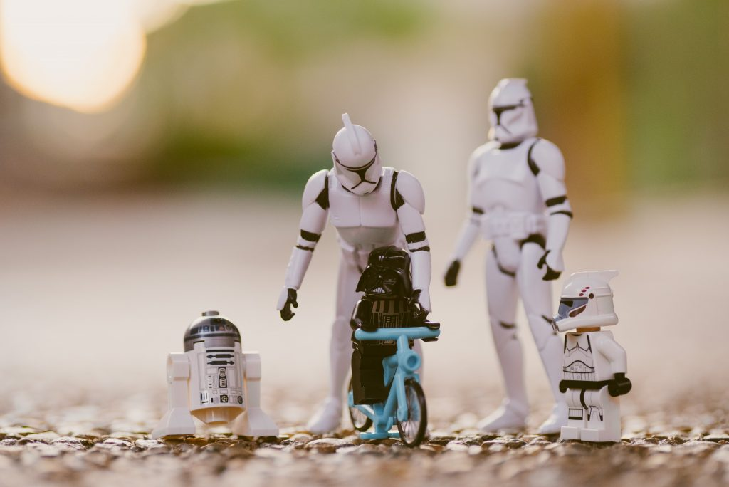 Star Wars nuclear family of toys
